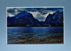 Mountain Water Landscape Fine Art Photography 5x7 Matted Print