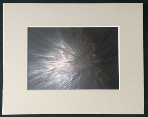 Falling Ice Fine Art Photography Matted Picture 8x10