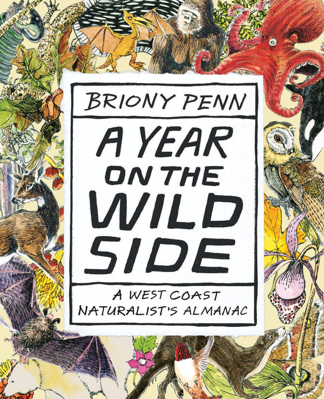 New Book: A Year on the Wild Side