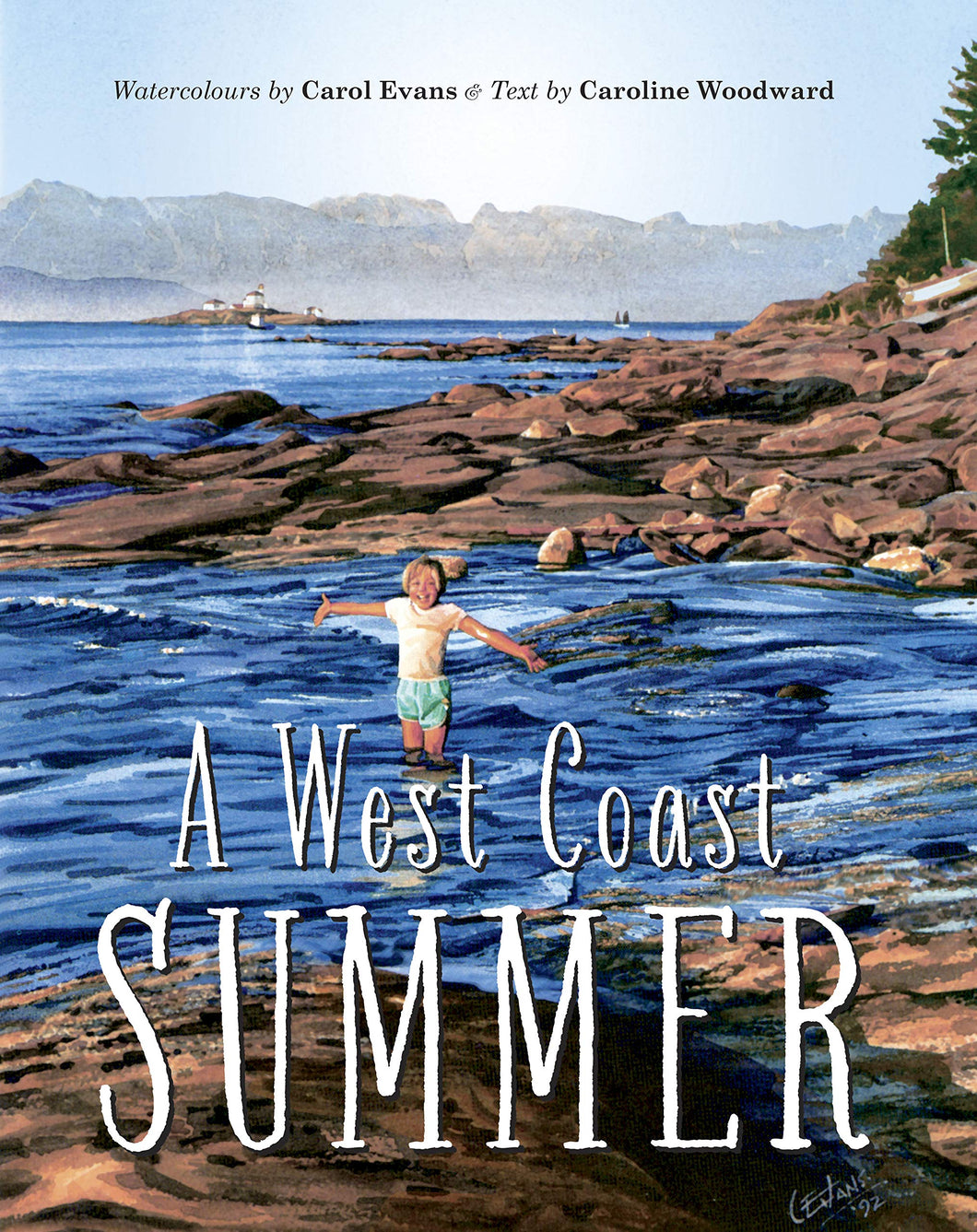 New Book: A West Coast Summer