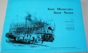 """Ship Modeler's Shop Notes"" (used book)"