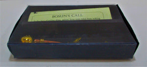 Bosuns call in plastic box