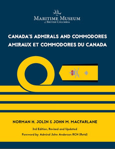 New Book: Canada's Admirals and Commodores