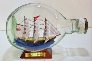 Gift Shop: Cutty Sark (Ship in a Bottle, med)