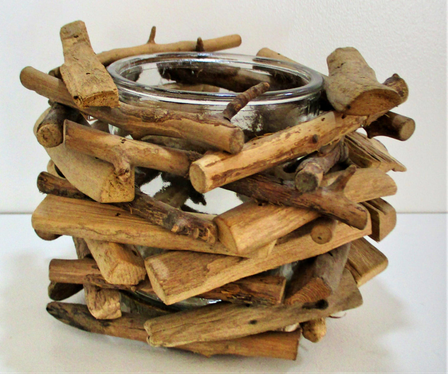 Driftwood Candle Holders (Set of 2)