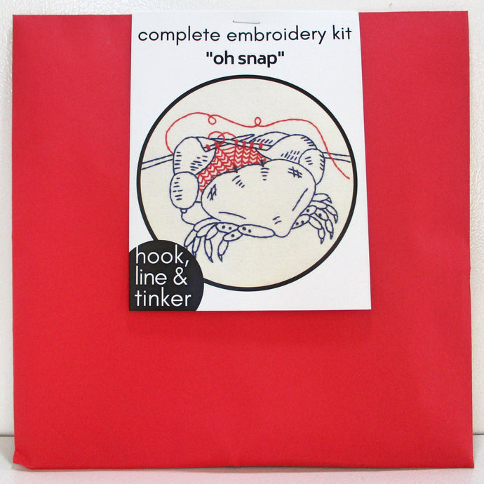 Embroidery Kit - Oh Snap