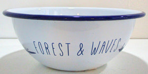 Forest and Waves Bowl