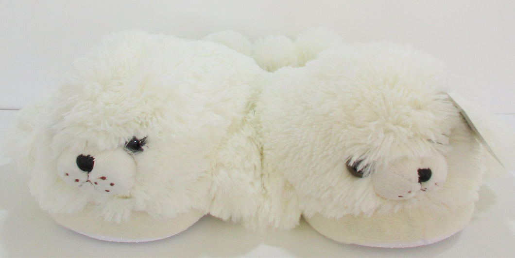 Gift Shop: Harp Seal Slippers (large - 9.5