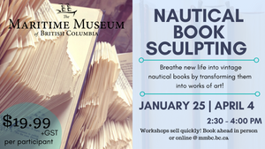 Workshop: Nautical Book Sculpting