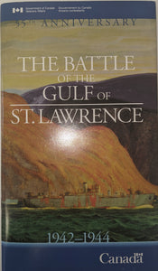 """The Battle of the Gulf of St. Lawrence 1942-1944 / La Battaille du Golfe du Saint-Laurent 1942-1944"" (used book)"