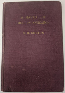 """A Manual of Modern Navigation"" (used book)"
