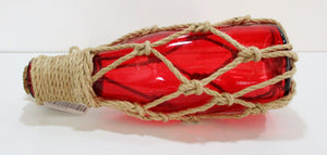Rope Bound Bottle - decorative float