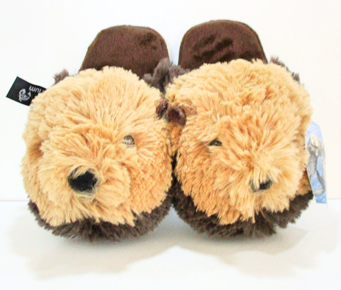 Otter Slippers - small/kids (7