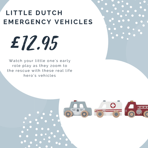 Wooden Emergency Vehicles