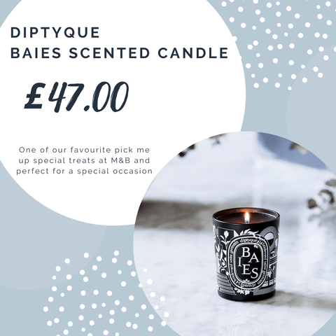 Scented candle from Dyptique