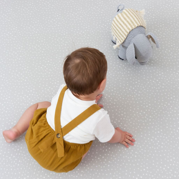 Large Speckled Play Mat - Mint
