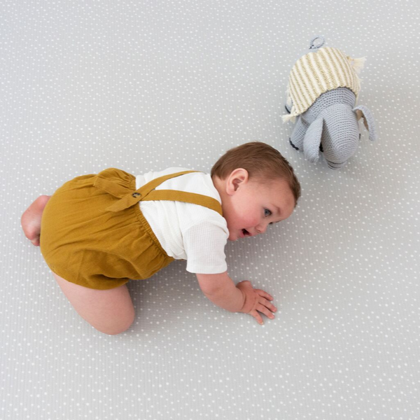 Soft padded play mat