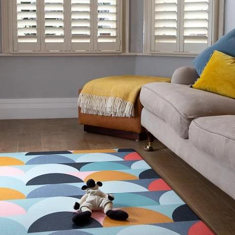SECONDS STOCK: Melbourne Mod Padded Play Mat (large)