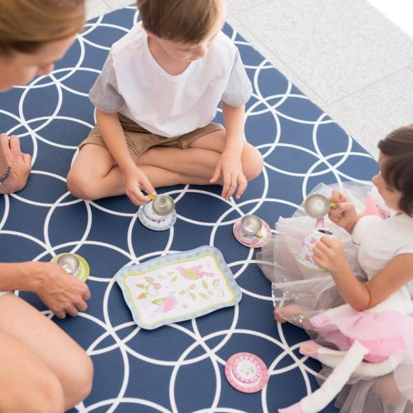 Large Hamptons Play Mat - Navy