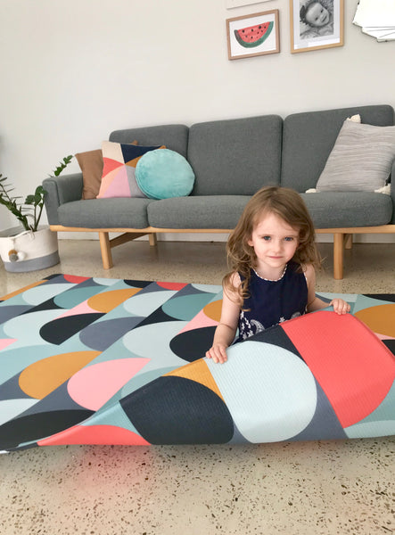 Large Melbourne MOD Padded Play Mat