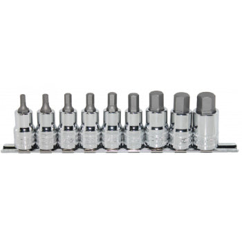 "SP Tools SP20561 Socket Rail Set - 7pc 1/2""Dr - Inhex Metric"