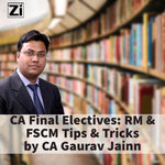 CA Final Risk Management and FSCM Tips and Tricks by CA Gaurav Jainn