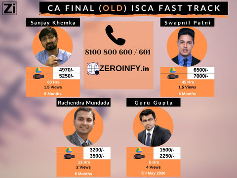 ISCA Fast Track