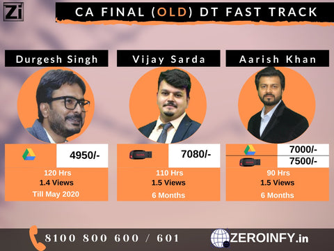 Direct Tax Fast Track (Old)