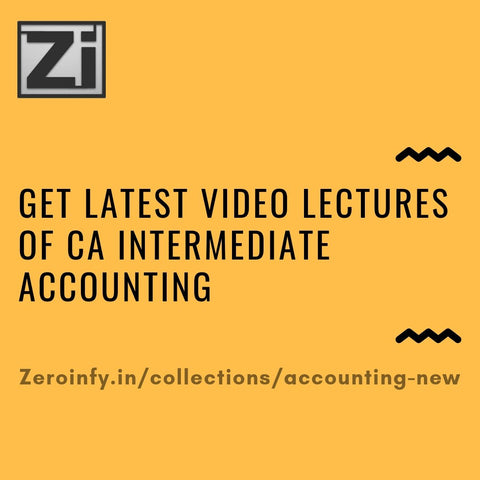 CA intermediate Accounting