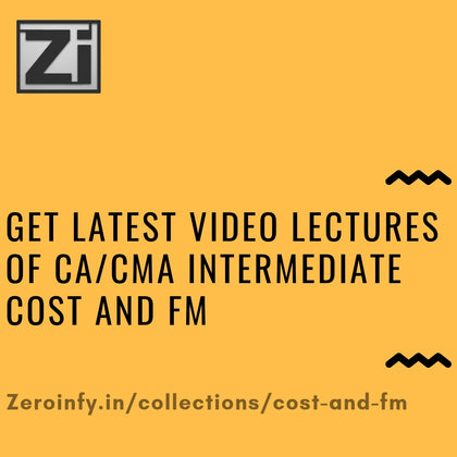CA/CMA Intermediate Cost and FM