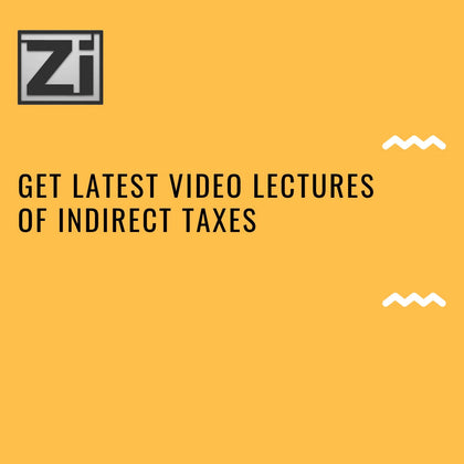 Indirect Taxes IDT (Old/New)