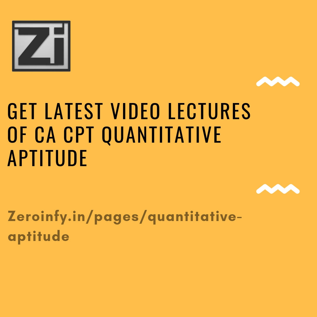 Cpt Quantitative Aptitude Book