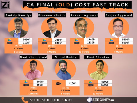 Costing Fast Track (Old)