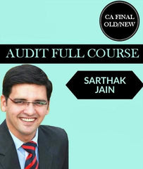 CA Final Audit Full Course by CA Sarthak Jain