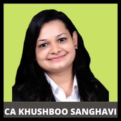 Prof. Khushboo Sanghavi   Auditing and Corporate & Business Law