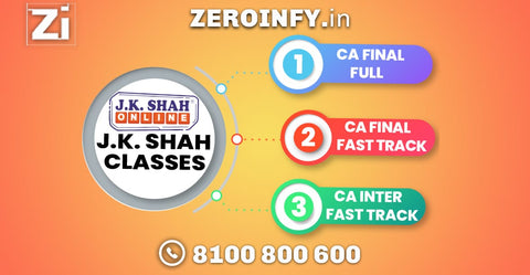CA Final Full/Fast Track Courses by JK Shah Classes