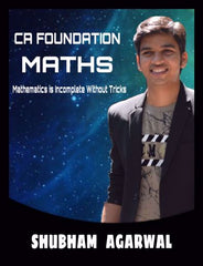 CA Foundation New Business Maths and Logical Reasoning & Statistics Fast Track By Shubham Agarwal - Zeroinfy