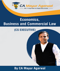 CS Executive Economic, Business and Commercial Laws Full Book By Mayur Agarwal (New) - Zeroinfy