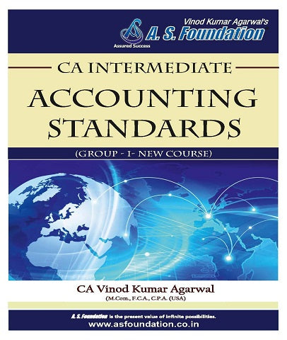 CA Inter Accounting Standard (Group II) Book By CA Vinod Kumar Agarwal by Zeroinfy