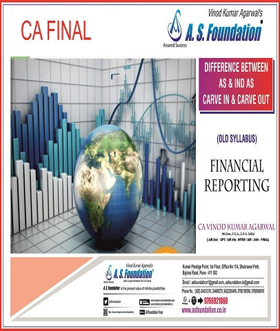 CA Final Only differences between AS & IND AS Book By CA Vinod Kumar Agarwal - Zeroinfy
