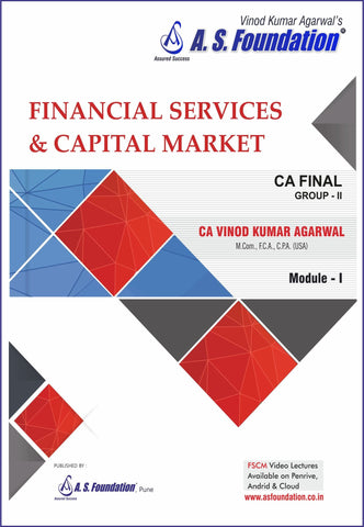 CA Final New Financial Services & Capital Markets Books by CA Vinod Kr. Agarwal - Zeroinfy