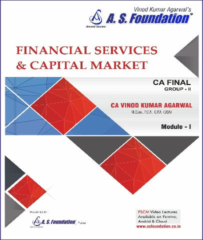 CA Final Financial Services Capital Management Regular Book by CA Vinod Kumar Agarwal
