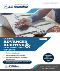 CA Final Old 23rd Ed. Adv Audit & Prof Ethics Book By CA Aarti Lahoti - Zeroinfy