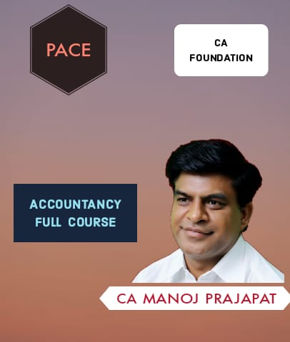 CA Foundation Accounts Full Course By Pace Academy