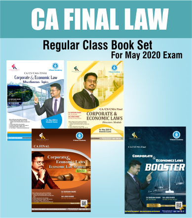 CA Final Law Regular Complete Book Set By CA Darshan Khare (New/Old) - Zeroinfy