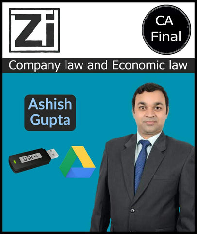 CA Final Company law and Economic law Capsule batch By CA CS Ashish Gupta