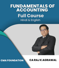 CMA Foundation Fundamentals of Accounting By Raj K Agrawal - Zeroinfy