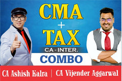 CA Inter CMA And Taxation Full Course Combo By Ashish Kalra and Vijender Aggarwal - Zeroinfy