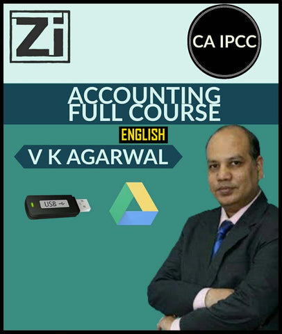 CA IPCC Accounting Full Course Video Lectures By Vinod Kr. Agarwal - Zeroinfy