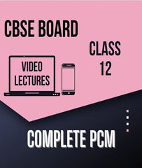 Class XII CBSE Physics, Chemistry, Maths Full Course By Study At Home - Zeroinfy